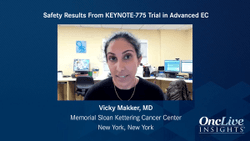 Safety Results From KEYNOTE-775 Trial in Advanced EC