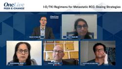 I-O/TKI Regimens for Metastatic RCC: Dosing Strategies
