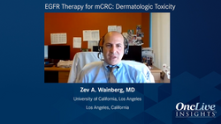 EGFR Therapy for mCRC: Dermatologic Toxicity