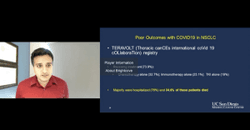 The Effects of COVID-19 and Vaccinations in Non–Small Cell Lung Cancer