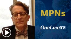 Dr. Mauro on Considerations for Early Treatment Initiation in Myelofibrosis