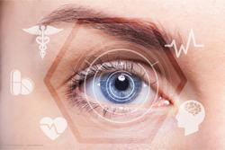 Collision warning device developed for visually impaired patients
