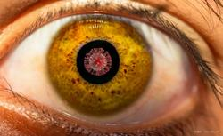 Are first signs of COVID-19 seen in the retina?