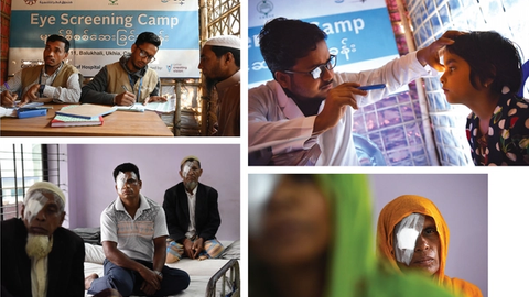 Stepping up to meet visual needs of refugees in Bangladesh
