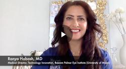 Explaining cataract surgery to patients