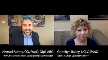 Neurotrophic keratopathy and ocular surface disease