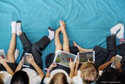 The possible connection among kids, devices, and myopia