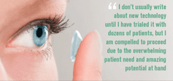 New ways to keep dry eye patients comfortable in contact lenses