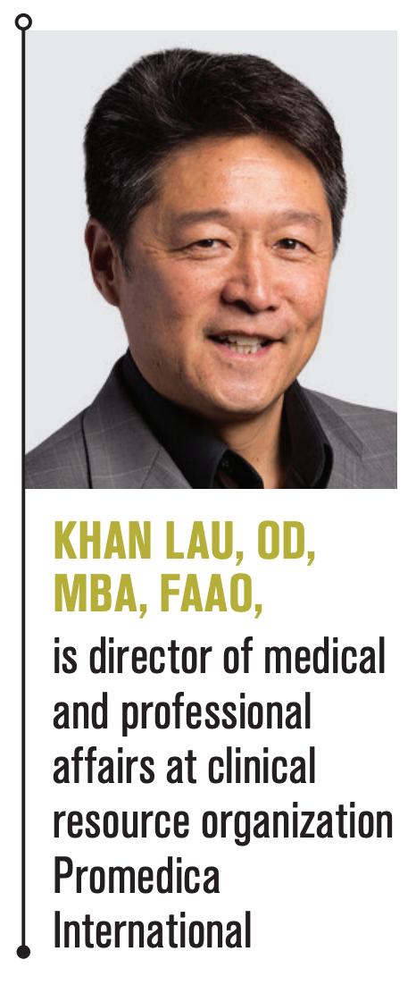 Khan Lau, OD, MBA, FAAO