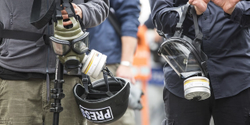What to do if you're hit with tear gas