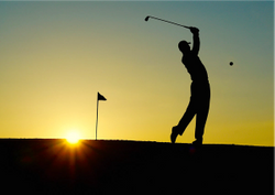 Where golf and optometry meetings intersect