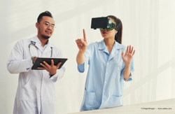 Virtual reality, tablet devices capture visual fields in unconventional ways