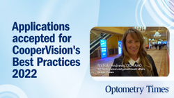 Podcast: Applications accepted for CooperVision's Best Practices 2022