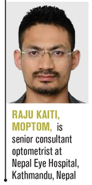 Raju Kaiti, Moptom