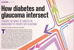 How diabetes and glaucoma intersect