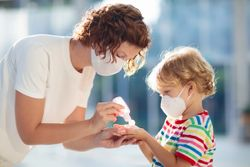 Hand sanitizer causes ocular chemical burns in pediatric population