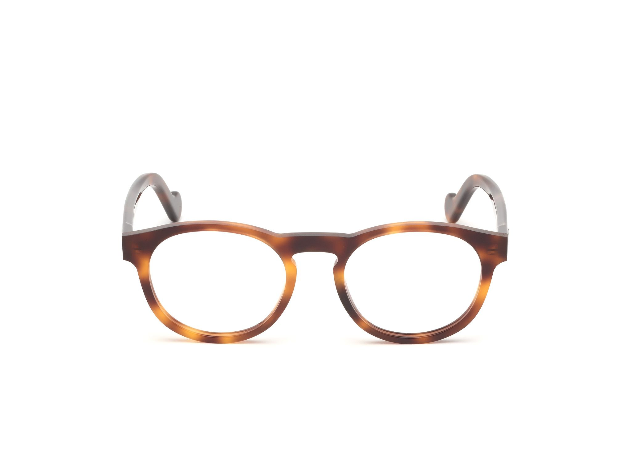 ML5051 showcases a round eyeglass shape with raw edges intentionally left rough