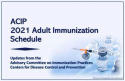 ACIP 2021 Adult Immunization Schedule Changes: A Quick Take