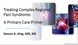 Treating Complex Regional Pain Syndrome: A Primary Care Primer