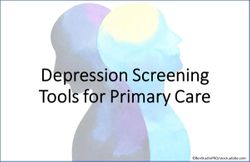 Depression Screening Tools for Primary Care