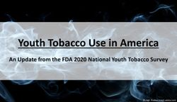 Youth Tobacco Use in America: An Update