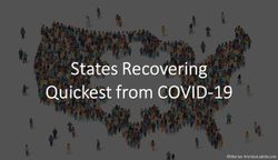 States Recovering Quickest from COVID-19