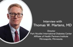 Tom Martens, MD, Talks about the Vision for CGM as Part of Primary Care for Type 2 Diabetes