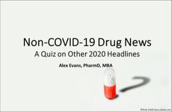 Non-COVID-19 Drug News: A Quiz on Other 2020 Headlines