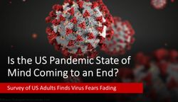 Is the US Pandemic State of Mind Coming to an End?