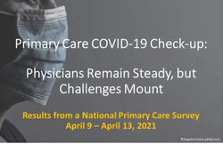 Primary Care COVID-19 Check-up: Physicians Remain Steady, but Challenges Mount