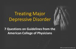 Treating Major Depressive Disorder: 7 Questions on Guidelines from the American College of Physicians