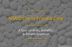 NSAID Use in Primary Care: A Quiz on Risks, Benefits, & Patient Selection