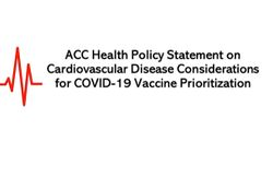 ACC Policy Statement: Prioritize COVID-19 Vaccine for Highest-risk CVD Patients