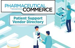 2020 Patient Support Vendor Directory