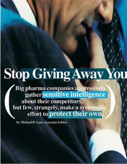 Stop Giving Away Your Secrets