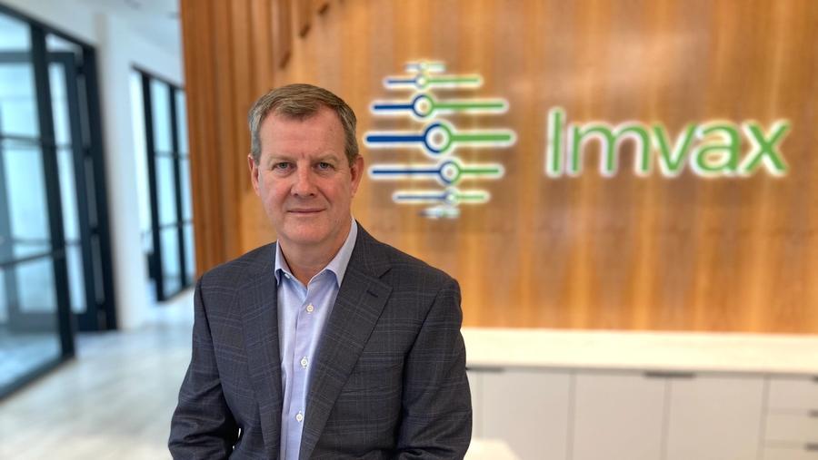 October's Executive Profile features Imvax CEO John Furey