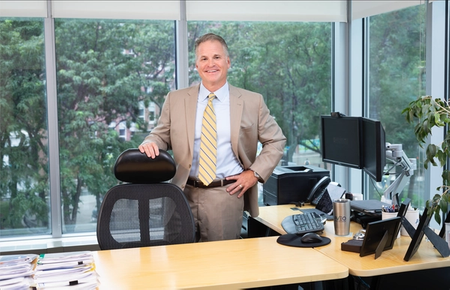 """Michael Bailey, CEO of AVEO Oncology, discusses how his ultimate leadership path in biotech—the setbacks and """"long slog of ups and downs""""—continues to shape a patient-focused mission."""