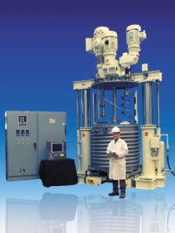 Five-Hundred-Gallon Multi-Shaft Mixer