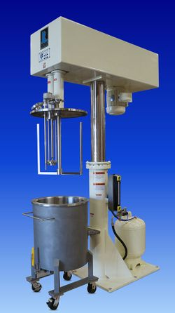 Dual-Shaft Mixer with High Shear Rotor/Stator from ROSS