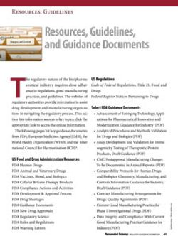 Resources, Guidelines, and Guidance Documents