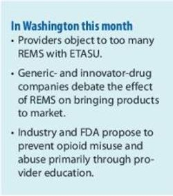FDA Struggles with Risk Management and Drug Safety