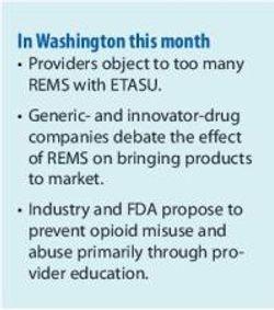 FDA Struggles with Risk Management and Drug Safety