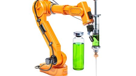 Robotics for Drug Compounding; Image: alexlmx-stock.adobe.com
