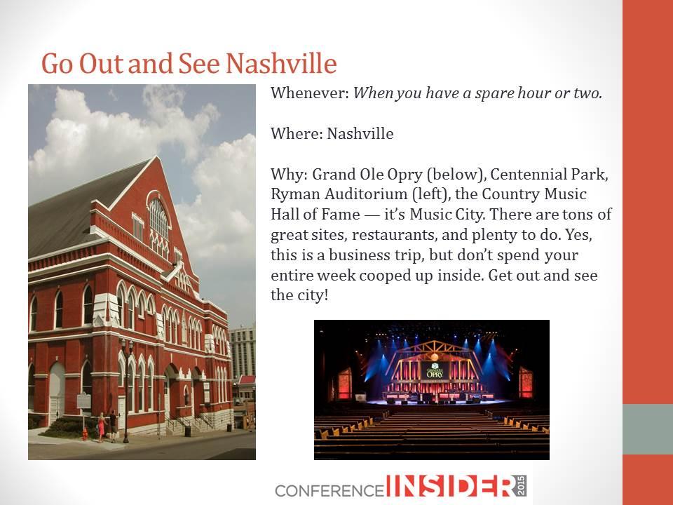 Photo Credit: Nashville Convention & Visitors Corp.