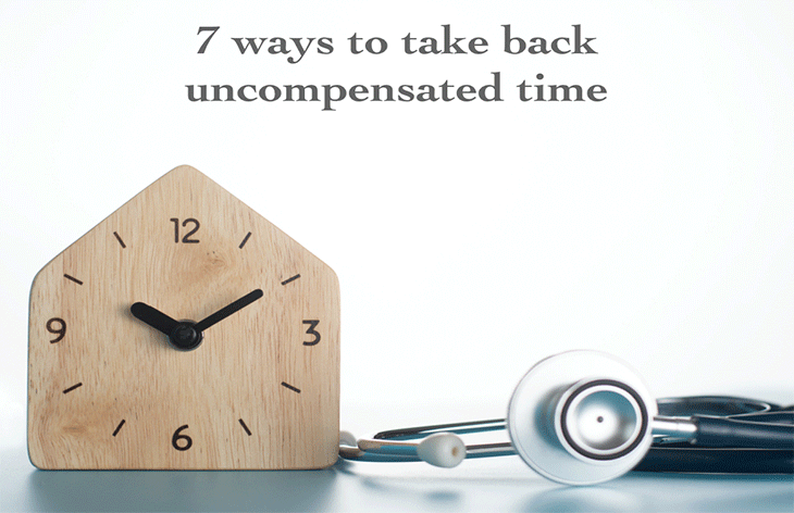 7 ways to take back uncompensated time