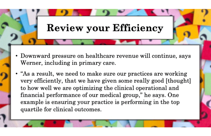 Review your Efficiency