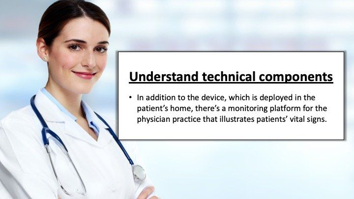 understand the technical components
