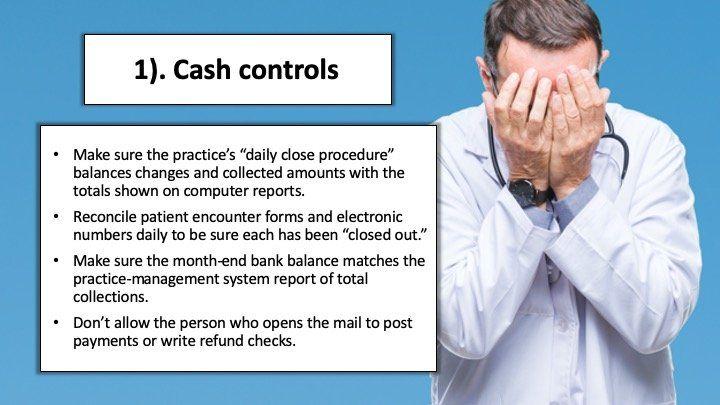 Sloppy cash controls