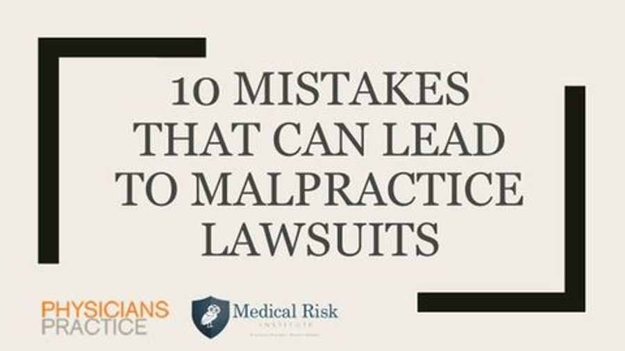 10 Mistakes That Can Lead to Lawsuits