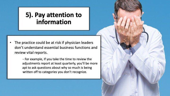 Ignoring vital information
